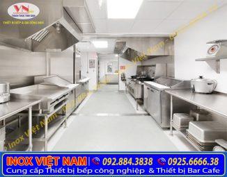 Xưởng gia công Thiết bị bếp công nghiệp chất lượng