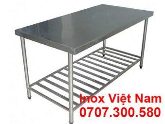 Cung cấp bàn inox công nghiệp chất lượng, giá tốt tại tp.hcm