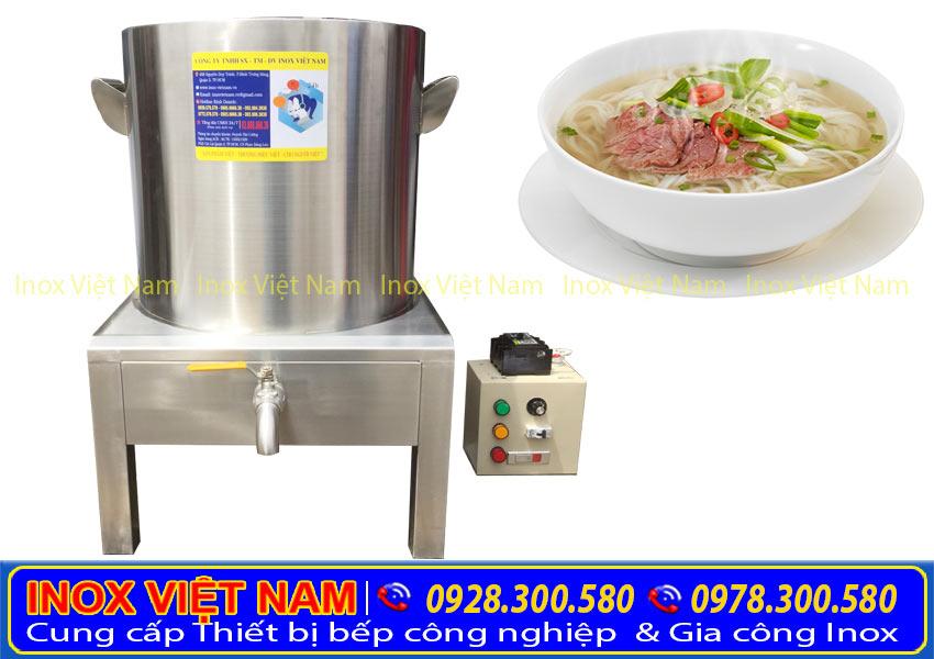 Báo giá nồi nấu phở bằng điện 2 ngăn - Inox Việt Nam