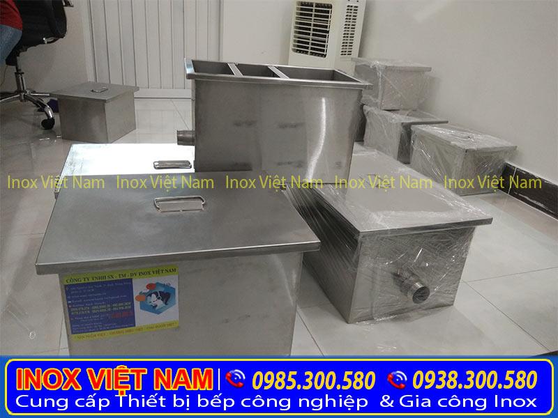 Báo giá Bể tách mỡ, bể tách mỡ inox, bể tách dầu mỡ nhà hàng ( hệ thống xử lý nước thải )