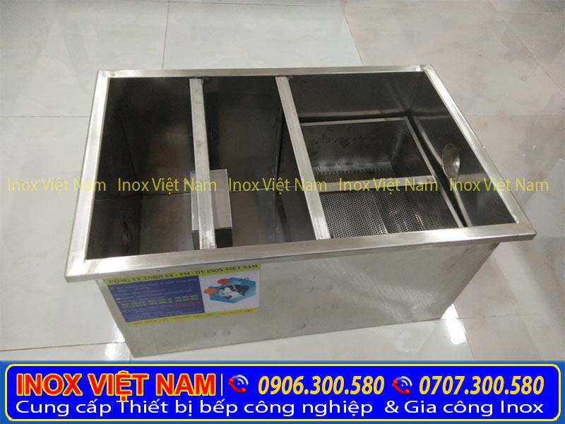 Sản phẩm bể tách mỡ 150 lít là một trong những loại thiết bị bếp chất lượng hàng đầu trên thị trường hiện nay