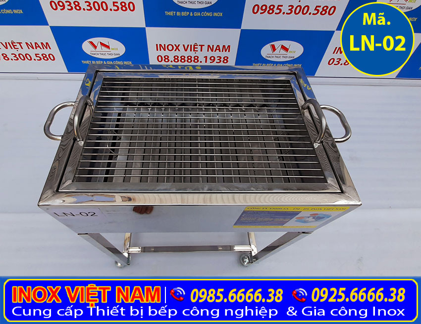 Bếp nướng inox LN02