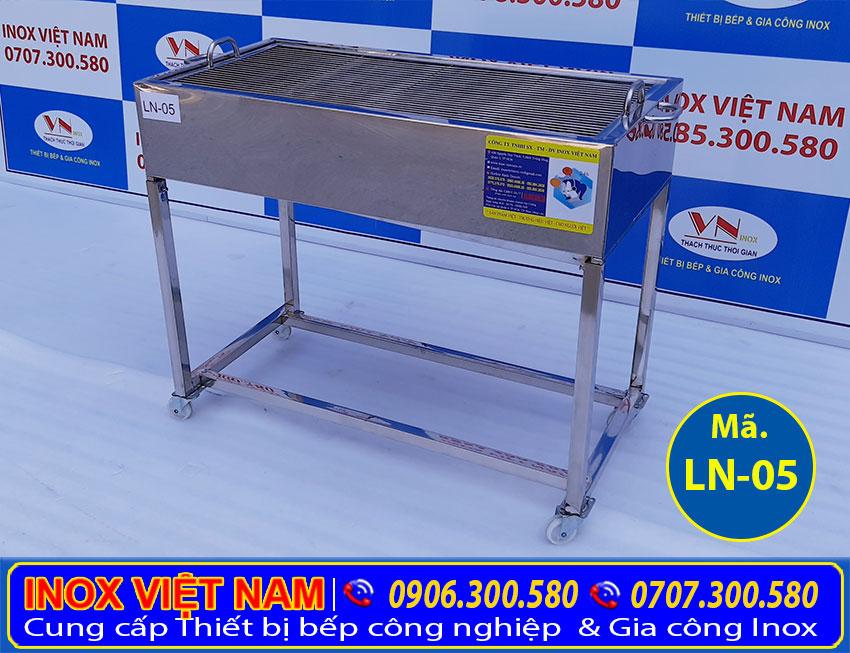 Bếp nướng bbq inox LN05