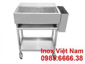 Lò Nướng Than Inox Ngoài Trời -Ln18010..