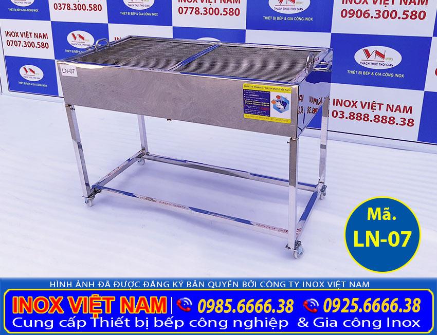 Bếp nướng than inox LN-07