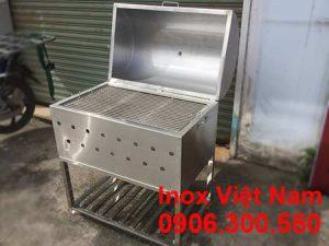 Bếp Nướng Than Inox -Ln18007