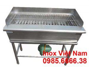 Bếp than nướng ngoài trời inox 304, bếp nướng BBQ ngoài trời giá rẻ