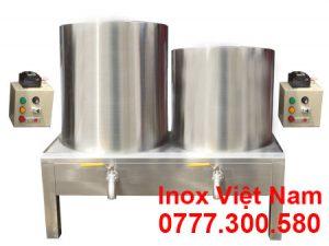 Bộ 2 nồi nấu phở bằng điện 50L 60L tại Inox Việt Nam