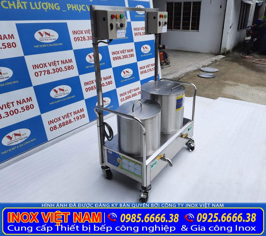 giá bộ nồi nấu phở điện 60L - 80L
