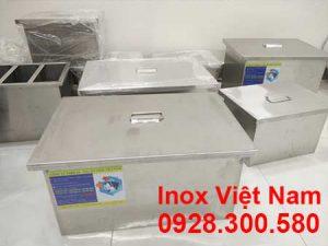 Bể tách mỡ inox 140L