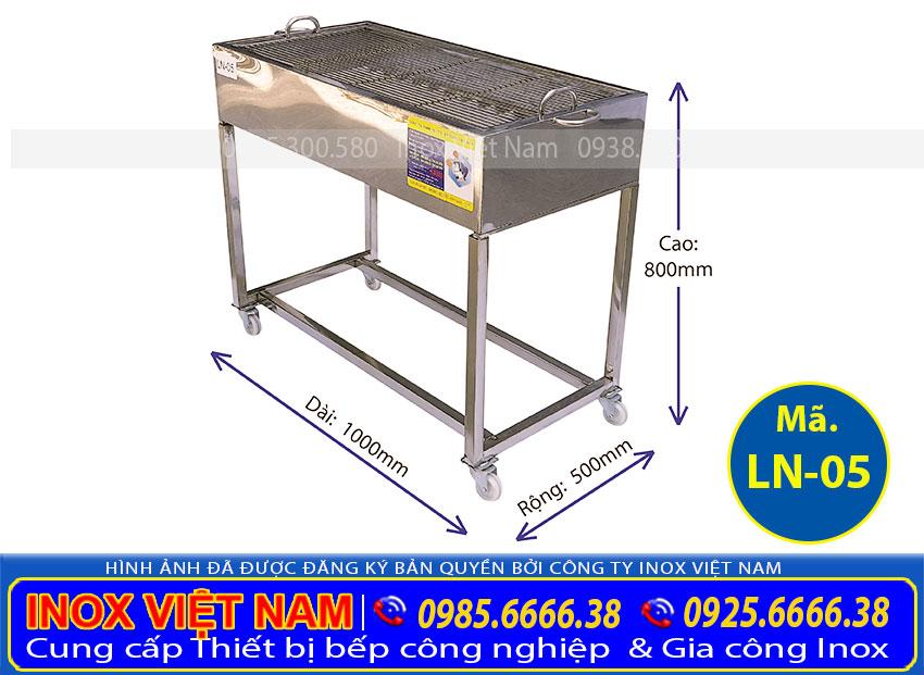 Lò nướng BBQ inox LN05