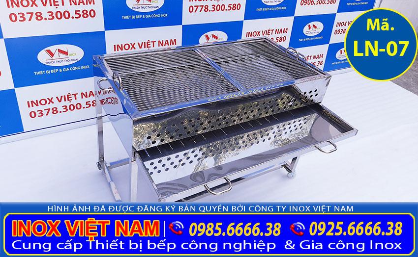 Lò nướng thịt bán cơm tấm bằng inox