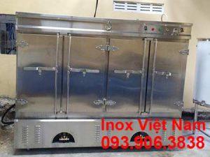 Những ưu điểm của tủ nấu cơm công nghiệp bằng gas và điện tại IVN