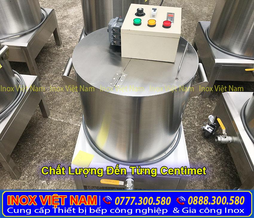 Nồi nấu phở bằng điện đẹp và chất lượng tại Inox Việt Nam