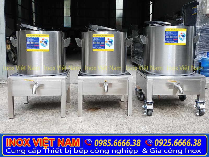 Nồi nấu phở bằng điện 90L giá tốt tại Inox Việt Nam