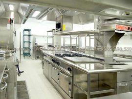 thiết kế thiết bị bếp công nghiệp