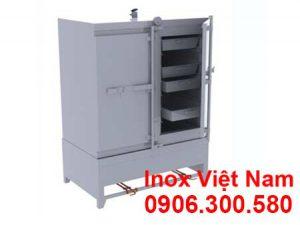Tủ hấp cơm 100 kg sử dụng gas