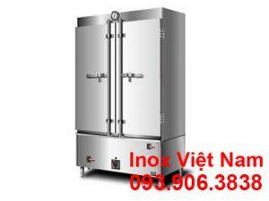 Tủ hấp cơm công nghiệp 100 kg sử dụng điện