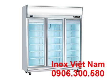 Tủ lạnh công nghiệp 3 cánh kiếng berjaya