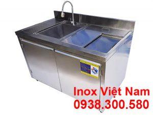 tủ quầy bar inox QB-16