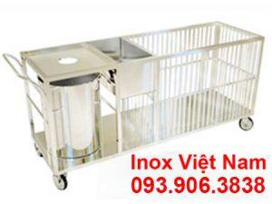 Xe thu gom 2 tầng - Một trong những sản phẩm của Inox Việt Nam