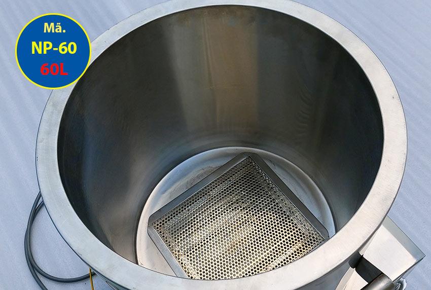 Cấu tạo bên trong nồi nấu phở bằng điện 60L Inox Việt Nam
