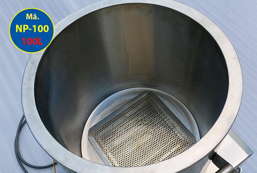 Cấu tạo bên trong nồi nấu phở bằng điện 100L