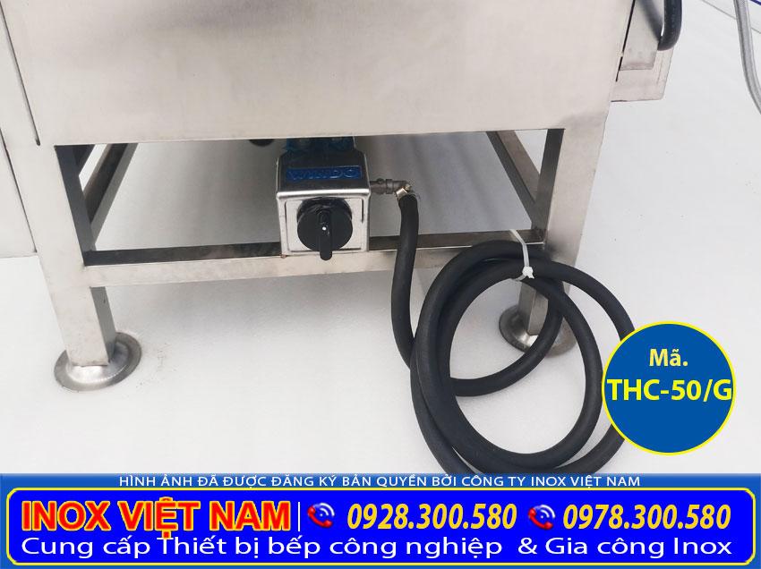 Dây dẫn gas của tủ hấp cơm 50kg