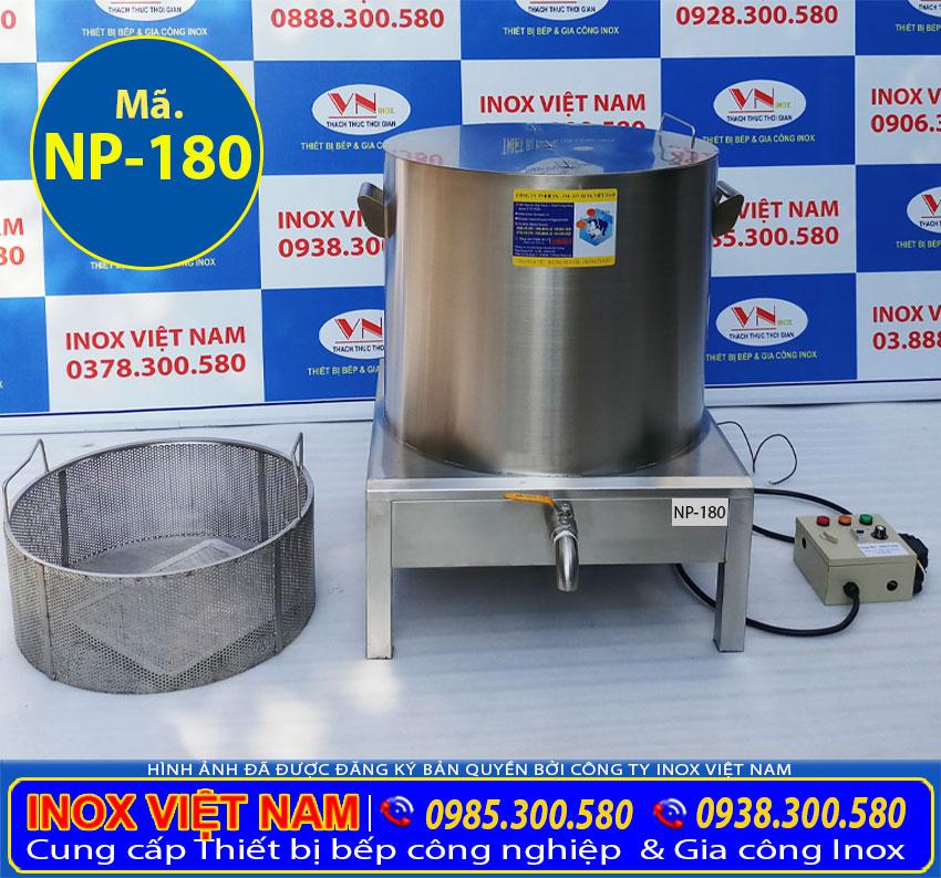 Giá bộ nồi nấu phở bằng điện 180L
