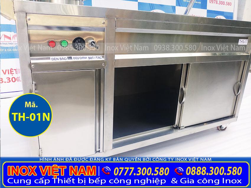 Phần thân của tủ giữ nóng thức ăn TH-01N