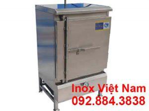 tủ hấp cơm 30kg bằng gas