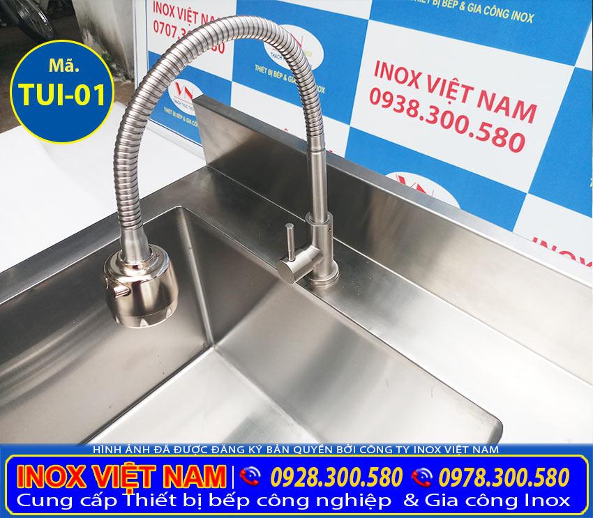 Tủ inox có bồn rửa inox 304 - Bồn rửa inox liền tủ