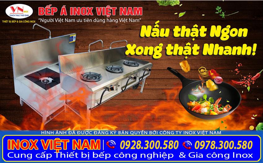 Báo giá thiết bị bếp công nghiệp