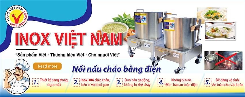 Inox Việt Nam - Địa chỉ bán nồi nấu chao bằng điện công nghiệp Uy tín Chất Lượng
