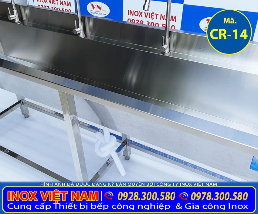 Bồn rửa tay công nghiệp trường mầm non
