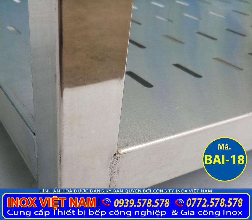chân bàn bếp inox BAI-18