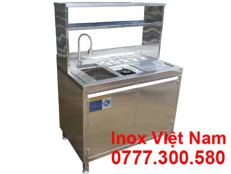 Quầy bar inox mini QB-05