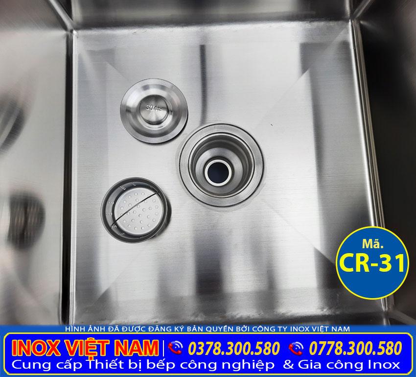 bộ thoát nước bồn rửa chén inox 304