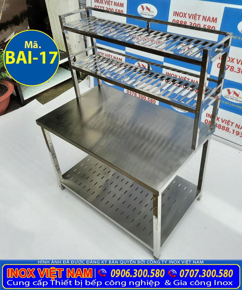bàn bếp inox 304 chất lượng cao