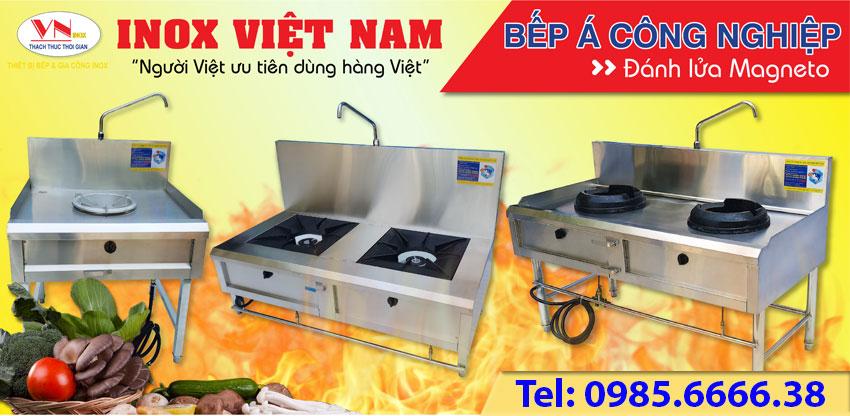 Báo giá thiết bị bếp công nghiệp tp hcm
