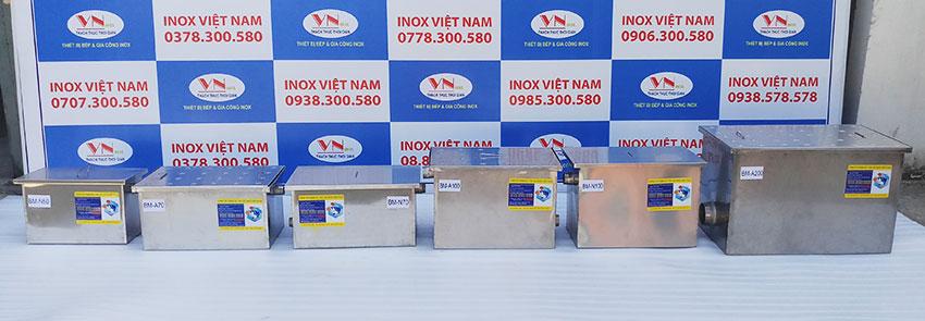 Bẫy mỡ công nghiệp Inox Việt Nam - Thiết bị xử lý nước thải nhà bếp hiệu quả nhất
