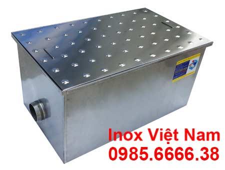Bể tách dầu mỡ inox âm sàn 350L