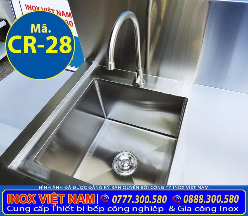 Bồn rửa chén 1 ngăn lớn CR-28