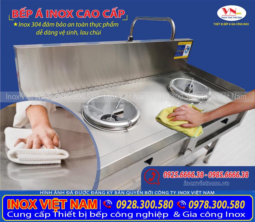 Vệ sinh thiết bị bếp công nghiệp nhà hàng