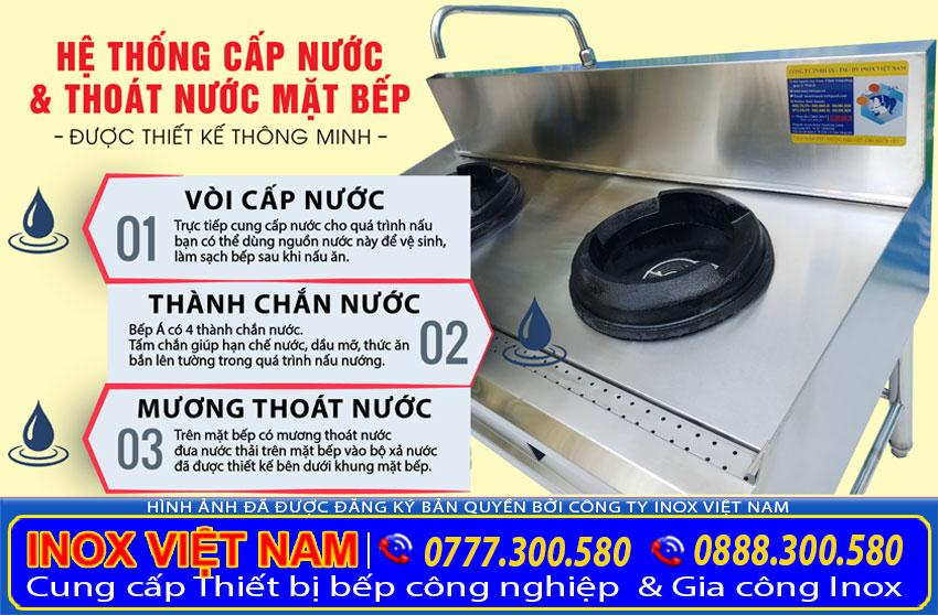 Thiết bị bếp xào công nghiệp thương hiệu Inox Việt Nam