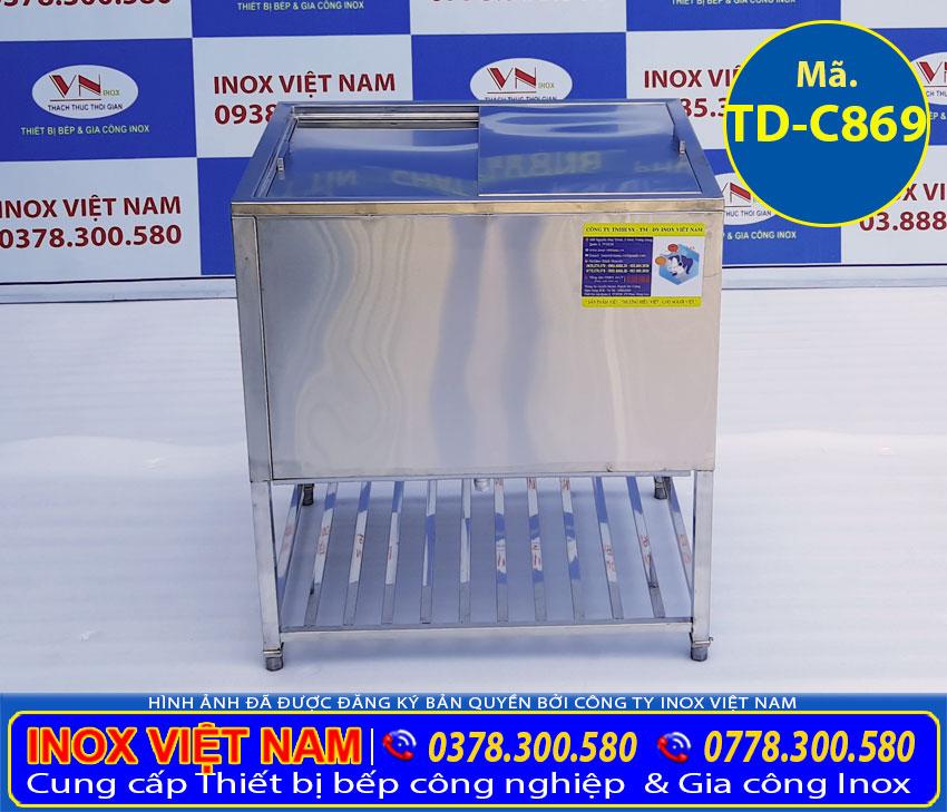 thùng đá inox quầy bar TD-C869