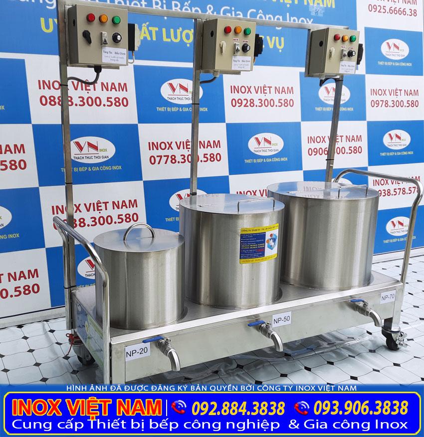 bộ nồi phở điện 20 - 50 - 70 Lít