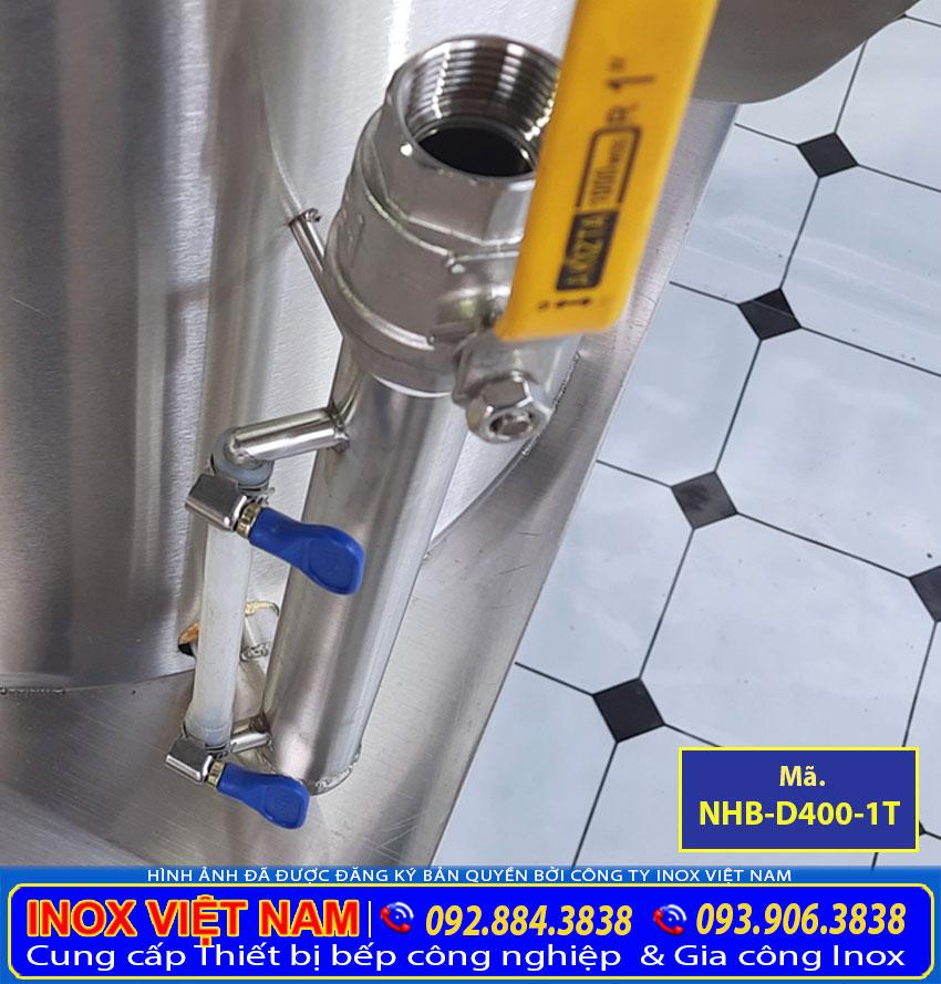 ống đo mực nước trong nồi