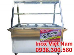 tủ hâm nóng thức ăn 8 khay TH-01