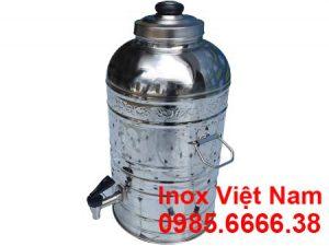 Bình giữ nhiệt inox 10L đựng nước đá